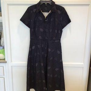 Ann Taylor Eyelet Tennis Racket Dress